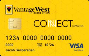 Image of Connect Rewards Visa Credit Card
