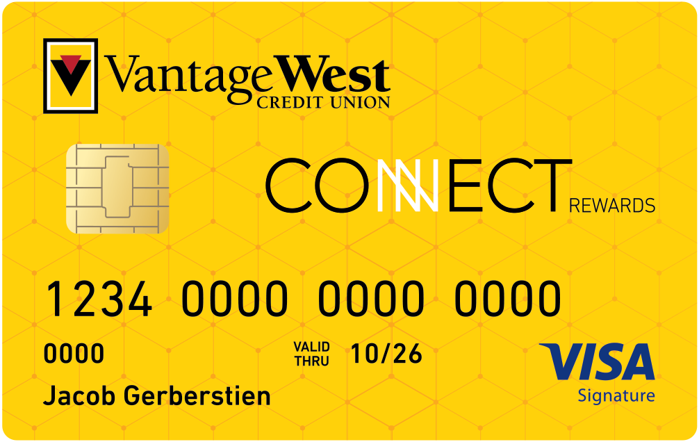 Image of Connect Rewards Visa Credit Card